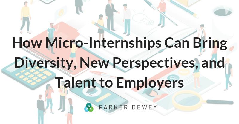Micro-Internships Build Diversity