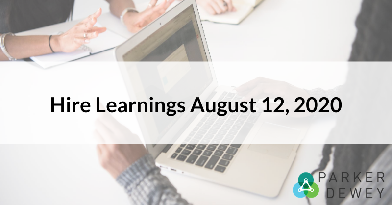 Hire Learnings August 12