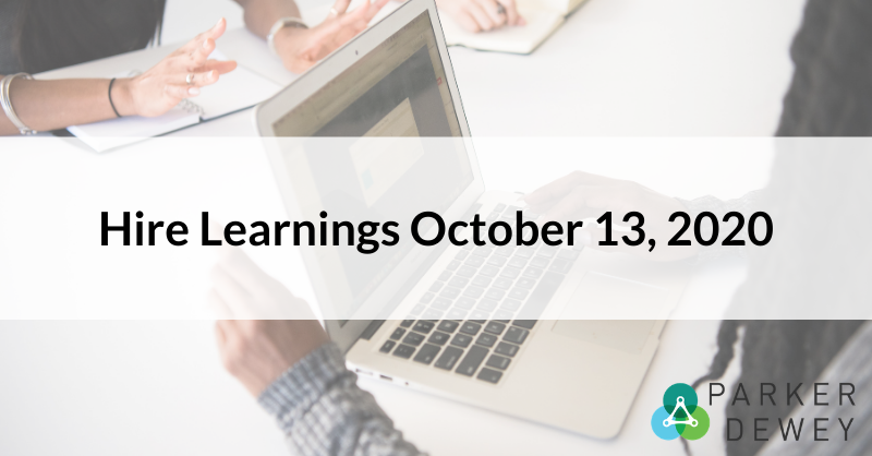Hire Learnings 10132020