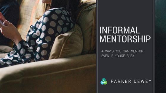Informal Mentorship