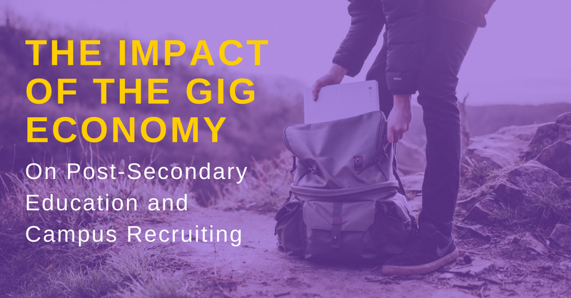 The Impact of the Gig Economy on Higher Ed