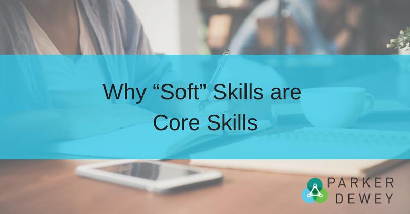 soft skills are core skills
