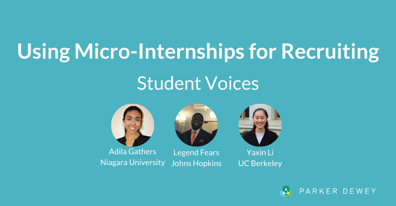 Micro-Internships for Recruiting