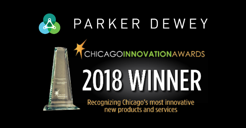 Parker Dewey Chicago Innovation Awards 2018 Winner
