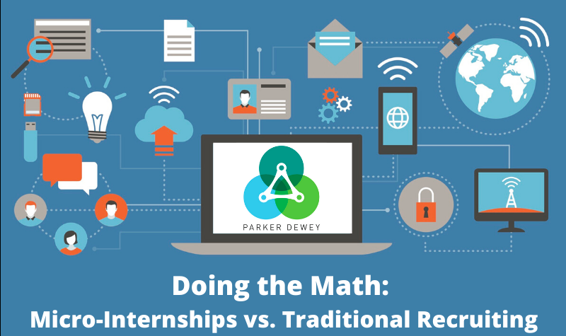 Doing the Math: Micro-Internships are a cost effective recruiting tactic