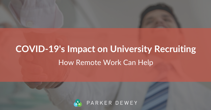 How Remote Work for Students Can Alleviate COVID-19 Disruptions
