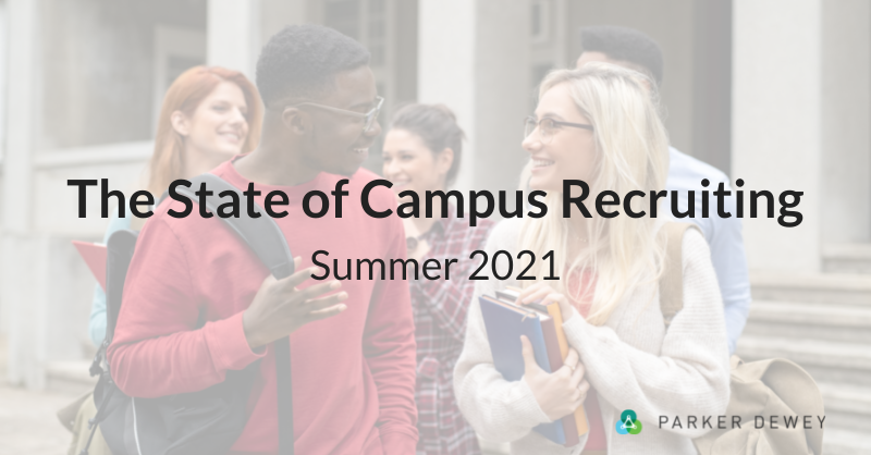 The State of Campus Recruiting Summer 2021