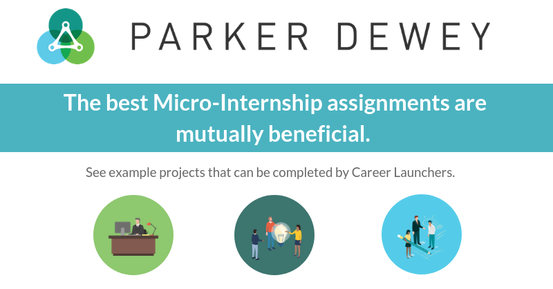 Example Projects | Micro-Internships | Parker Dewey