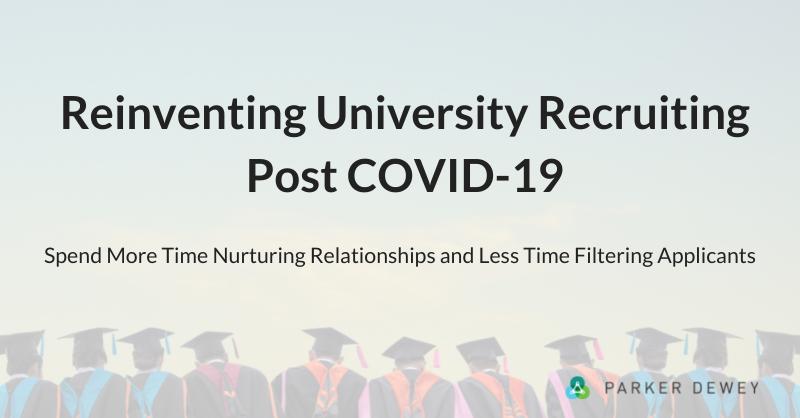 Reinventing University Recruiting Post COVID-19