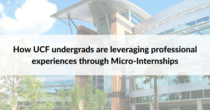 UCF-MicroInternships