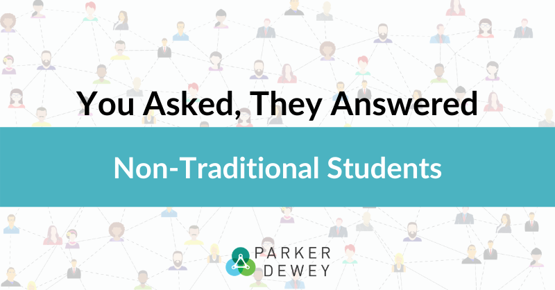 How can non-traditional students get hired?