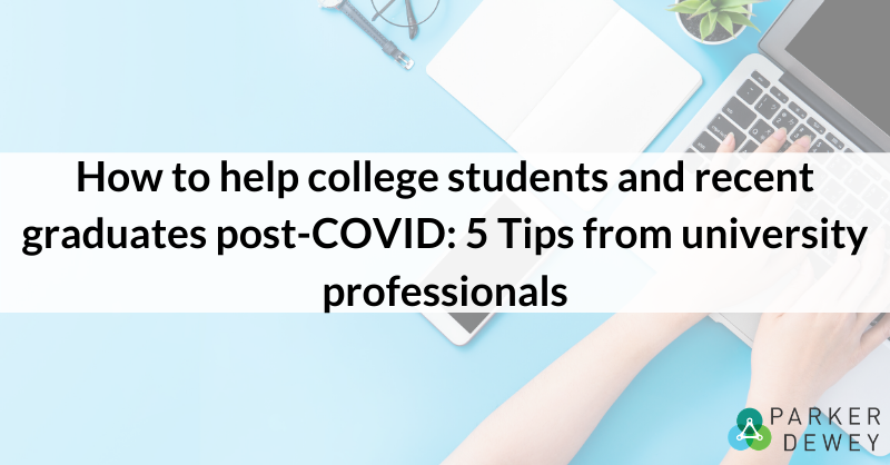 How to help college students