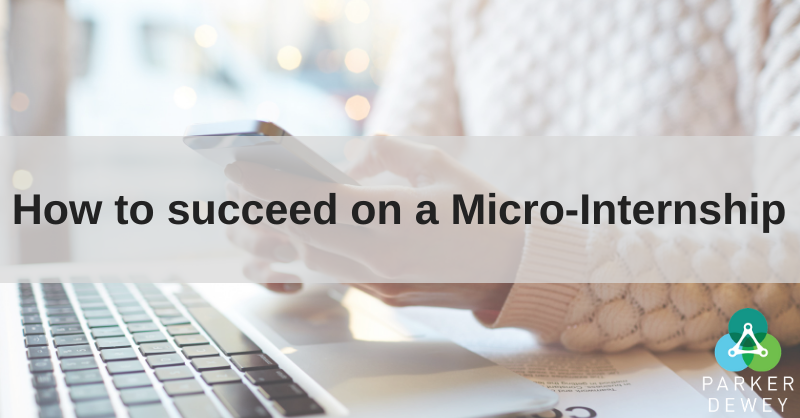 Tips for just hired Micro-Interns