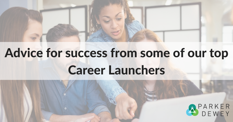 Tips for Career Launchers